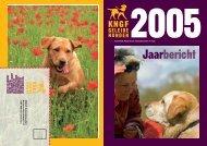 Jaarbericht 2005 - KNGF Geleidehonden