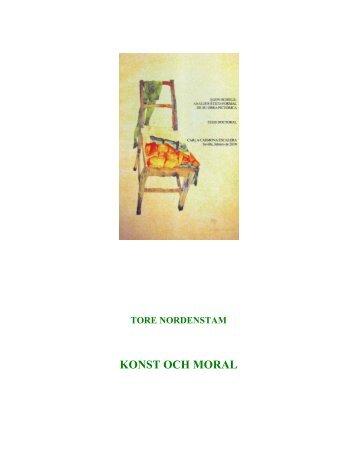 Konst och moral