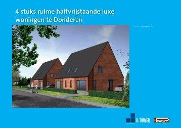 4 woningen te Donderen - Paas BV