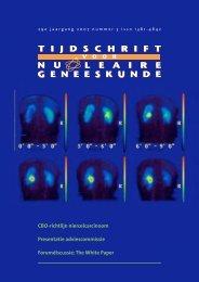 Nummer 3 - Tijdschrift voor Nucleaire Geneeskunde