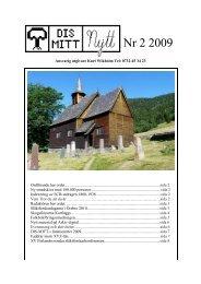 Nr 2 - 2009 - Föreningen DIS-Mitt