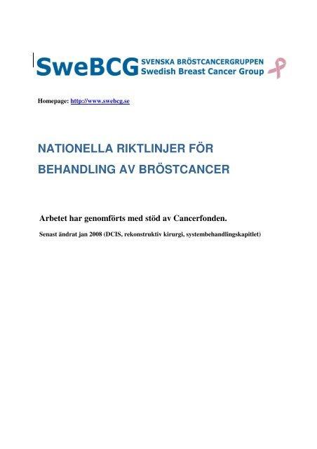 bröstcancer in situ