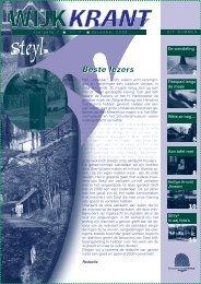 Jaargang 7 nr 4 december 2008 - Wijkraad Steyl