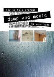 How to help prevent damp and mould in your ... - Dorsetforyou.com