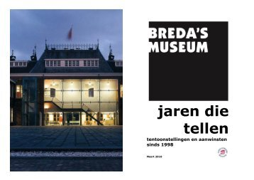 Jaren die tellen in pdf - Breda's Museum