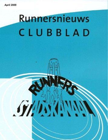 Runnersnieuws, april 2009 - Runners Stadskanaal
