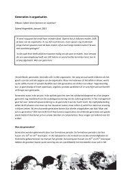 Generaties in organisaties - Van Vieren