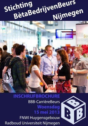 Stichting BètaBedrijvenBeurs Nijmegen - BBB-Carrièrebeurs
