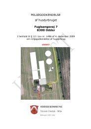 Fuglsangsvej 7 - udkast til godkendelse - Oddernettet