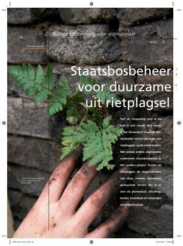 Staatsbosbeheer ziet mogelijkheden voor ... - Biodiversiteit.NL
