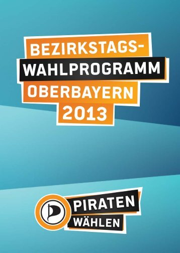 Wahlprogramm PDF-Download - Klaus Toll
