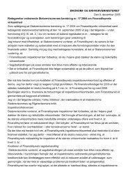 og erhvervsministerens redegørelse af 9 ... - Rigsrevisionen