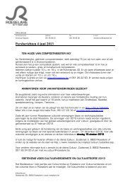 Persberichten 4 juni 2013 - Stad Roeselare