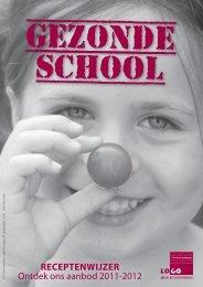 Brochure gezonde school aanbod 2011-2012 - Logo Mechelen