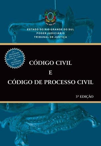 Códigos - Livro 3c - CPC - 2012.indd - Tribunal de Justiça do Estado ...