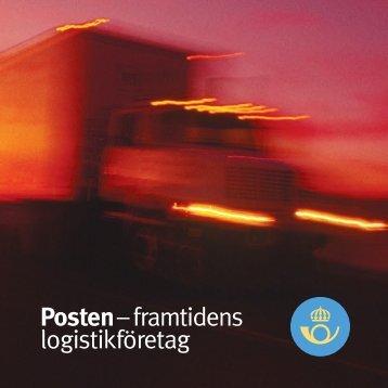 Posten – framtidens logistikföretag