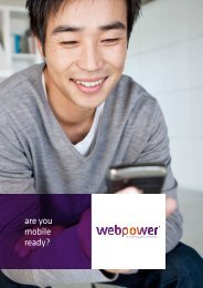 are you mobile ready? - Web Power