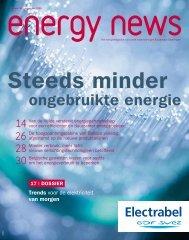 ongebruikte energie - Electrabel