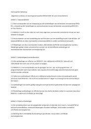 Voorwaarden Webshop (Algemene verkoop-‐ en ... - Rhsa-shop