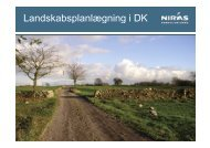 Landskabsplanlægning i DK