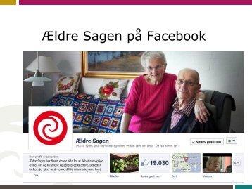Ældre Sagen på Facebook - Danske Medier