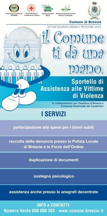 I SERVIZI - Comune di Brescia