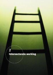 Intersectorale werking - Zorgnet Vlaanderen