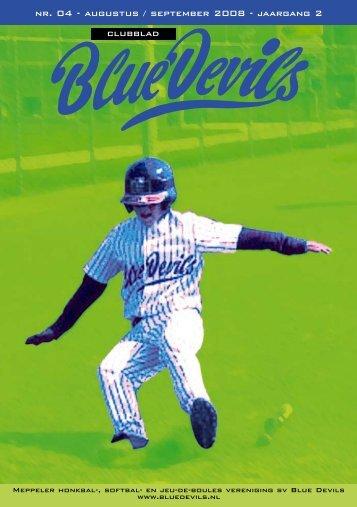 nr. 04 - augustus / september 2008 - jaargang 2 clubblad - Blue Devils