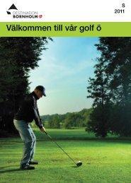 Välkommen till vår golf ö - Bornholms Velkomstcenter
