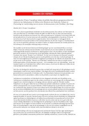 Toespraak door Wouter Vanstiphout tijdens de ... - Design as Politics