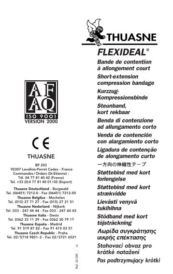 2209096 Notice Flexideal - thuasne.biz