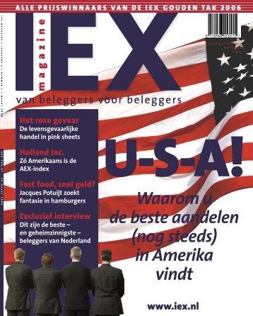 Waarom u de beste aandelen (nog steeds) in Amerika vindt - Iex
