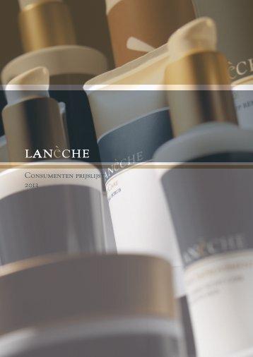 Laneche consumenten prijslijst 2013 NL.pdf - Beauty Bizz