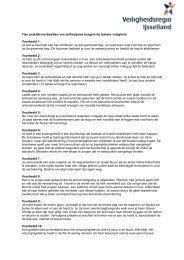 Praktijkvoorbeelden zelfredzaamheid - Veiligheidsregio IJsselland