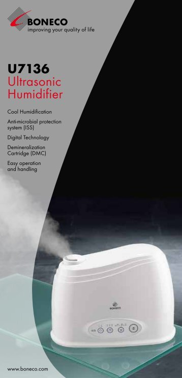 U7136 Ultrasonic Humidifier