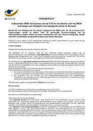 RIZIV in dialoog met de artsen - Vlaams Artsensyndicaat