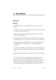 5.1 Graviditet - SBU