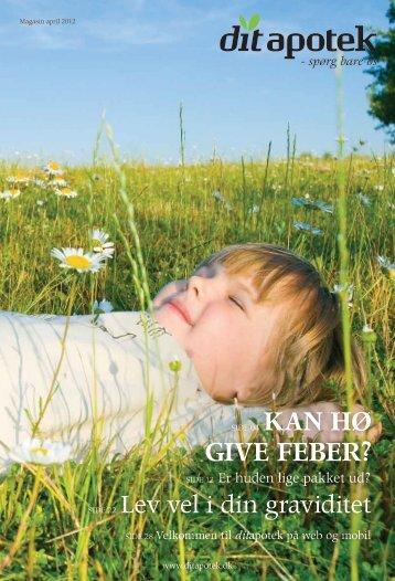 GIVE FEBER? - Holstebro Svane apotek