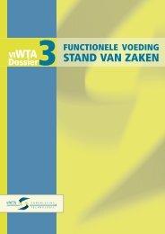 Functionele voeding: stand van zaken: dossier (pdf, nieuw venster)