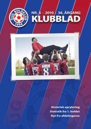 klubblad 3 / 2010 - Gug Boldklub