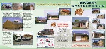 BVY¥16¥3-luiks folder Broersma - Broersma Systeembouw