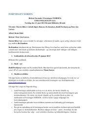 Uddannelsesudvalgets møde 13. juni 2013 - Foreningen Norden