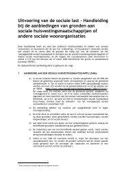 Uitvoering van de sociale last - Vlaamse Maatschappij voor Sociaal ...