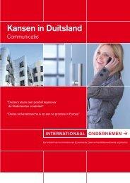 Kansen in Duitsland - Communicatie Kant