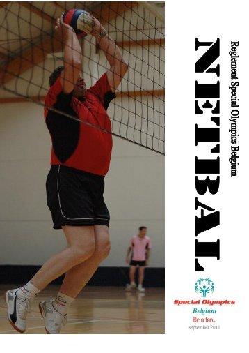 Netbal Reglement - Special Olympics Belgique