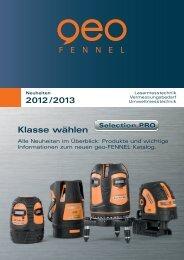 Klasse wählen - geo-FENNEL GmbH