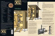 Utedass - XL Bygg