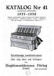 1937 Ungdomsstjärnans Förlag catalog pages - Vintage Guitars
