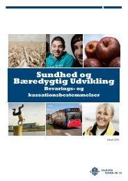 Sundhed og Bæredygtig Udvikling - Aalborg Stadsarkiv
