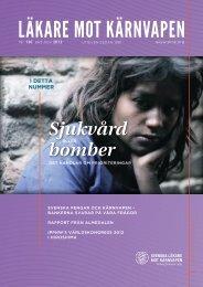 Hiroshimadagen 2012 - Svenska Läkare mot Kärnvapen